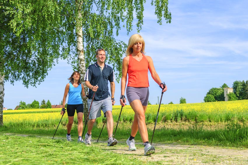 Nordic Walking in der Eifel